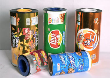 OEM  Food Grade Plastic  Sealing Packaging Stretch Roll Film 80-125 Micron  Aluminum Foil Laminated Roll Films