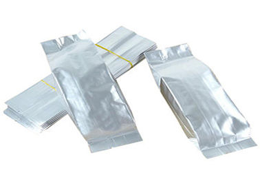 Food Storage Aluminium Foil Laminated Pouches Plastic Side Gusset Coffee Bag